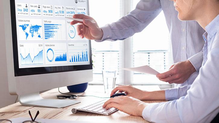 Datenauswertung am Computer
