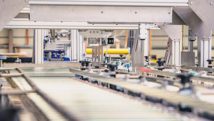 Industrielle Produktionslinie