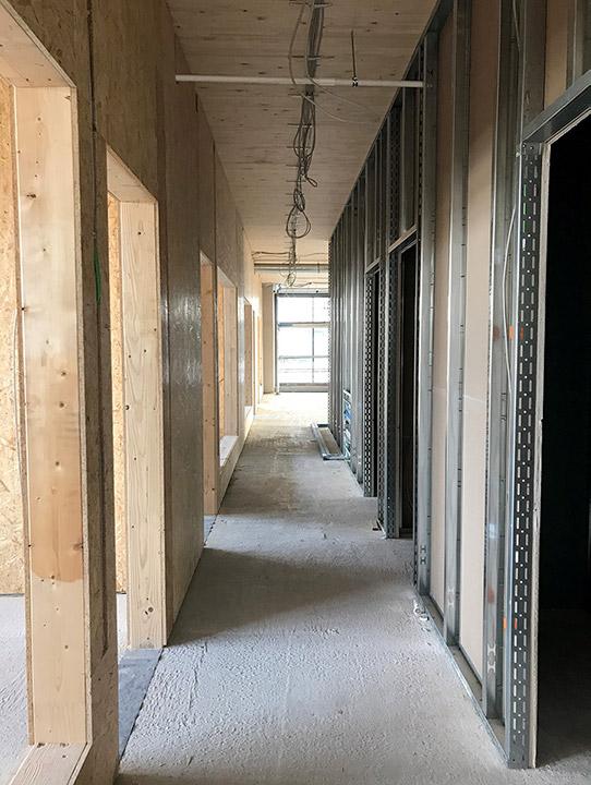 Büros zweite Etage